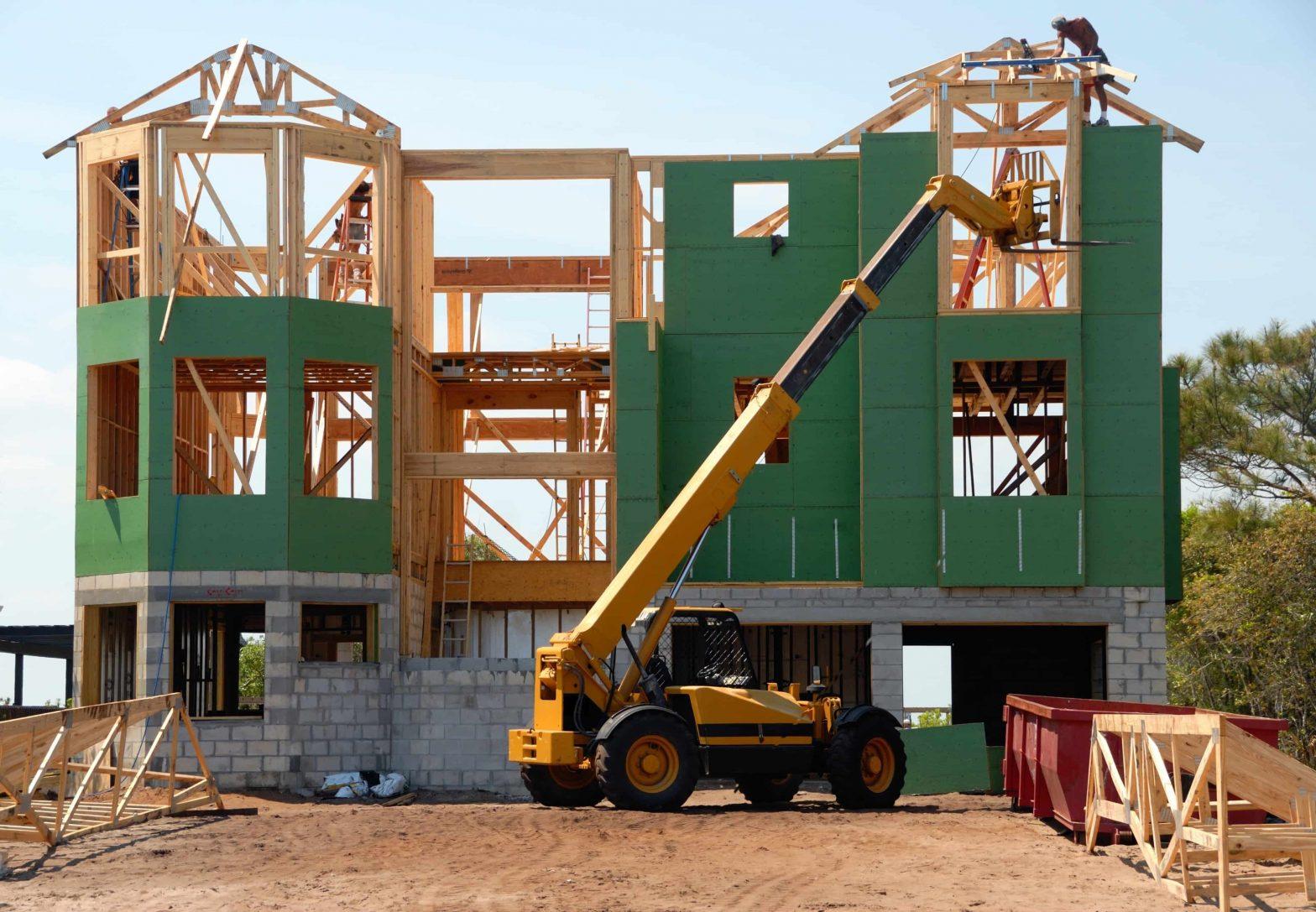 Het bouwen van een huis